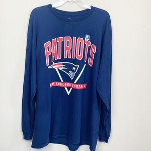 NFL Team Apparel NEW ENGLAND PATRIOTS Tee